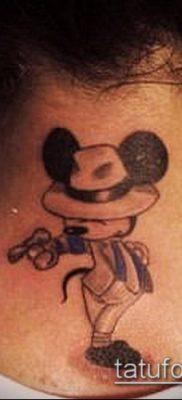 фото тату микки маус (Tattoo) (значение) – пример рисунка – 073 tatufoto.com