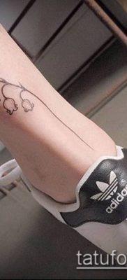 тату минимализм №850 – достойный вариант рисунка, который успешно можно использовать для переделки и нанесения как тату минимализм на предплечье