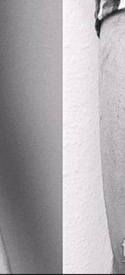 тату минимализм №912 – достойный вариант рисунка, который удачно можно использовать для переделки и нанесения как тату минимализм на руке