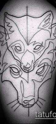 тату минимализм №28 – достойный вариант рисунка, который хорошо можно использовать для доработки и нанесения как тату минимализм
