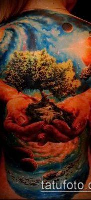 фото тату млечный путь (tattoo Milky Way) (значение) – пример рисунка – 010 tatufoto.com