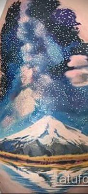 фото тату млечный путь (tattoo Milky Way) (значение) – пример рисунка – 017 tatufoto.com