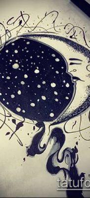 фото тату млечный путь (tattoo Milky Way) (значение) – пример рисунка – 019 tatufoto.com