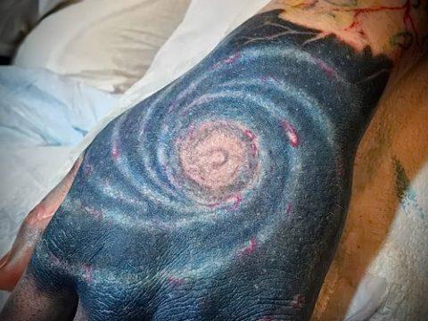 фото тату млечный путь (tattoo Milky Way) (значение) - пример рисунка - 040 tatufoto.com
