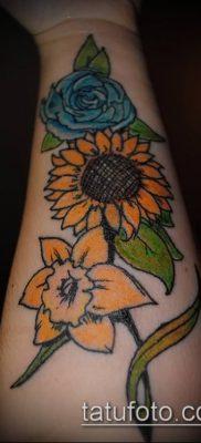 фото тату нарцисс (Narcissus Tattoo) (значение) – пример рисунка – 013 tatufoto.com