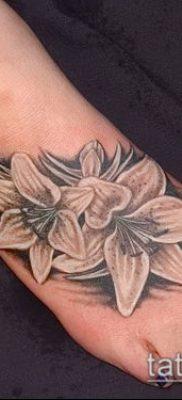 фото тату нарцисс (Narcissus Tattoo) (значение) – пример рисунка – 020 tatufoto.com