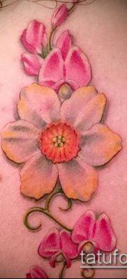 фото тату нарцисс (Narcissus Tattoo) (значение) – пример рисунка – 024 tatufoto.com