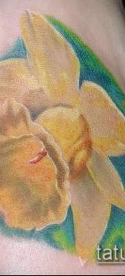 фото тату нарцисс (Narcissus Tattoo) (значение) – пример рисунка – 042 tatufoto.com