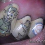 тату на зубах №6 - уникальный вариант рисунка, который удачно можно использовать для переделки и нанесения как Tattoo on teeth
