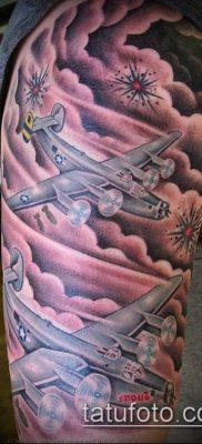 тату облака №964 – прикольный вариант рисунка, который хорошо можно использовать для преобразования и нанесения как тату облака фон