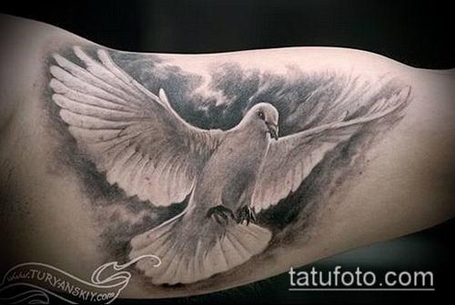 тату облака №922 - прикольный вариант рисунка, который легко можно использовать для переработки и нанесения как Tattoo Clouds