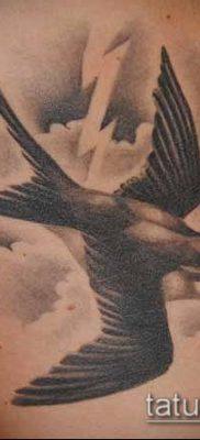 тату облака №804 – уникальный вариант рисунка, который успешно можно использовать для преобразования и нанесения как тату облака фон