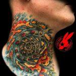 тату органика №15 - прикольный вариант рисунка, который удачно можно использовать для доработки и нанесения как стиль тату органика