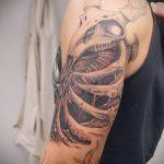тату органика №264 - эксклюзивный вариант рисунка, который успешно можно использовать для преобразования и нанесения как органика тату