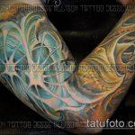 тату органика №959 - классный вариант рисунка, который легко можно использовать для переделки и нанесения как органика тату