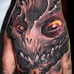 тату органика №567 - прикольный вариант рисунка, который успешно можно использовать для переработки и нанесения как стиль тату органика