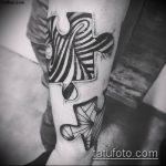 тату пазл №39 - классный вариант рисунка, который удачно можно использовать для переделки и нанесения как тату пазлы на руке