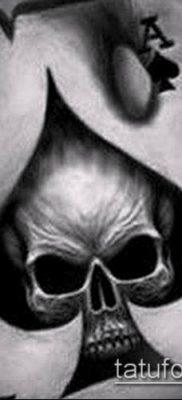 фото тату пиковый туз (Tattoo) (значение) – пример рисунка – 001 tatufoto.com