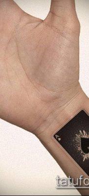 фото тату пиковый туз (Tattoo) (значение) – пример рисунка – 003 tatufoto.com