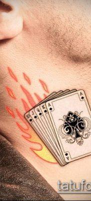 фото тату пиковый туз (Tattoo) (значение) – пример рисунка – 004 tatufoto.com