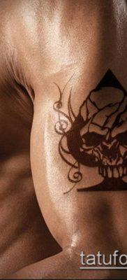 фото тату пиковый туз (Tattoo) (значение) – пример рисунка – 005 tatufoto.com