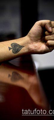 фото тату пиковый туз (Tattoo) (значение) – пример рисунка – 007 tatufoto.com
