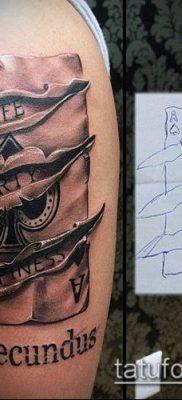 фото тату пиковый туз (Tattoo) (значение) – пример рисунка – 011 tatufoto.com
