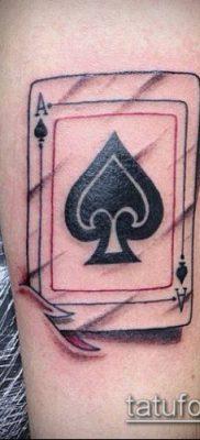 фото тату пиковый туз (Tattoo) (значение) – пример рисунка – 012 tatufoto.com