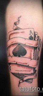 фото тату пиковый туз (Tattoo) (значение) – пример рисунка – 020 tatufoto.com