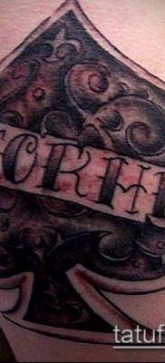 фото тату пиковый туз (Tattoo) (значение) – пример рисунка – 021 tatufoto.com