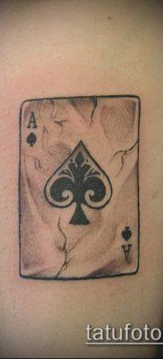 фото тату пиковый туз (Tattoo) (значение) – пример рисунка – 044 tatufoto.com