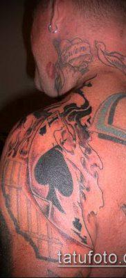 фото тату пиковый туз (Tattoo) (значение) – пример рисунка – 051 tatufoto.com