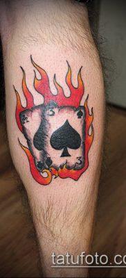 фото тату пиковый туз (Tattoo) (значение) – пример рисунка – 059 tatufoto.com
