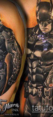 тату рыцарь №252 – классный вариант рисунка, который успешно можно использовать для доработки и нанесения как тату рыцарь самурай и викинги и гладиаторы