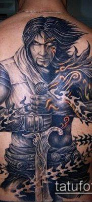 тату рыцарь №10 – уникальный вариант рисунка, который хорошо можно использовать для переделки и нанесения как тату рыцарь на коне