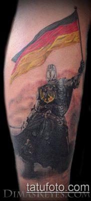 тату рыцарь №751 – крутой вариант рисунка, который успешно можно использовать для преобразования и нанесения как тату рыцарь смерти