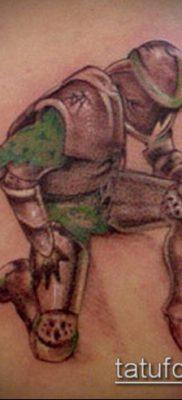 тату рыцарь №897 – уникальный вариант рисунка, который легко можно использовать для переработки и нанесения как тату рыцари викинги