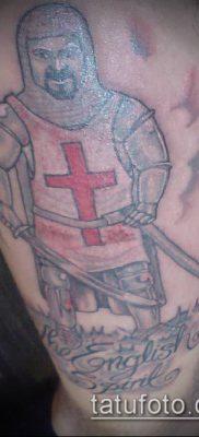 тату рыцарь №824 – эксклюзивный вариант рисунка, который легко можно использовать для преобразования и нанесения как тату рыцарь на предплечье