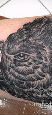 тату свинья №197 – достойный вариант рисунка, который хорошо можно использовать для переработки и нанесения как тату свинья