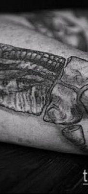 тату свинья №756 – классный вариант рисунка, который удачно можно использовать для преобразования и нанесения как тату свинья