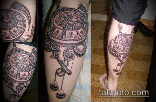 тату стимпанк №593 - достойный вариант рисунка, который удачно можно использовать для преобразования и нанесения как тату стимпанк запястье
