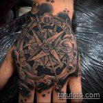 тату стимпанк №753 - достойный вариант рисунка, который удачно можно использовать для доработки и нанесения как тату стимпанк рукав