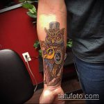 тату стимпанк №523 - интересный вариант рисунка, который удачно можно использовать для переделки и нанесения как тату стимпанк рукав