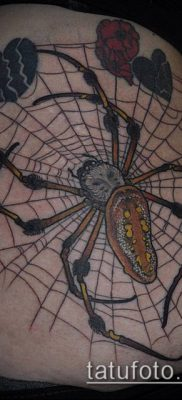 фото тату черная вдова (Tattoo) (значение) – пример рисунка – 024 tatufoto.com