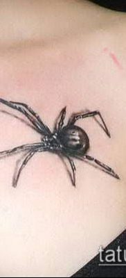 фото тату черная вдова (Tattoo) (значение) – пример рисунка – 058 tatufoto.com