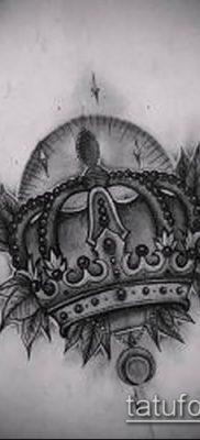 фото тату шапка Монома (Monomach's) (значение) – пример рисунка – 005 tatufoto.com