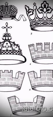фото тату шапка Монома (Monomach's) (значение) – пример рисунка – 009 tatufoto.com