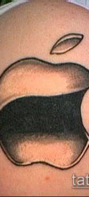 фото тату яблоко (apple tattoo) (значение) – пример рисунка – 032 tatufoto.com