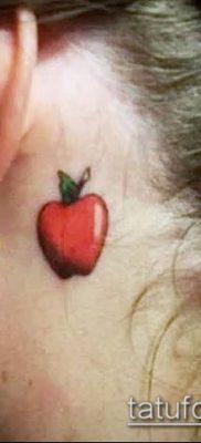 фото тату яблоко (apple tattoo) (значение) – пример рисунка – 035 tatufoto.com