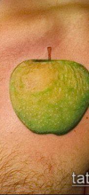 фото тату яблоко (apple tattoo) (значение) – пример рисунка – 089 tatufoto.com